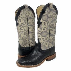 Anderson Bean Ostrich Western Boots